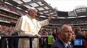 Pope-Francis Croke Park WMOF 2018 in Ireland