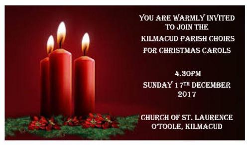 Carol Service and Christmas 2017